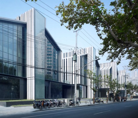 Soho fuxing lu shanghai by gmp architekten a as architecture - Soho architekten ...