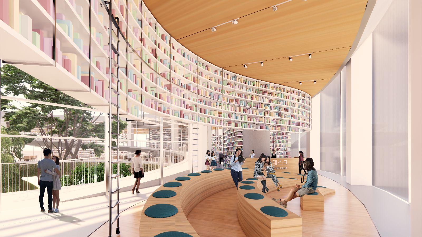 Songdo International Library