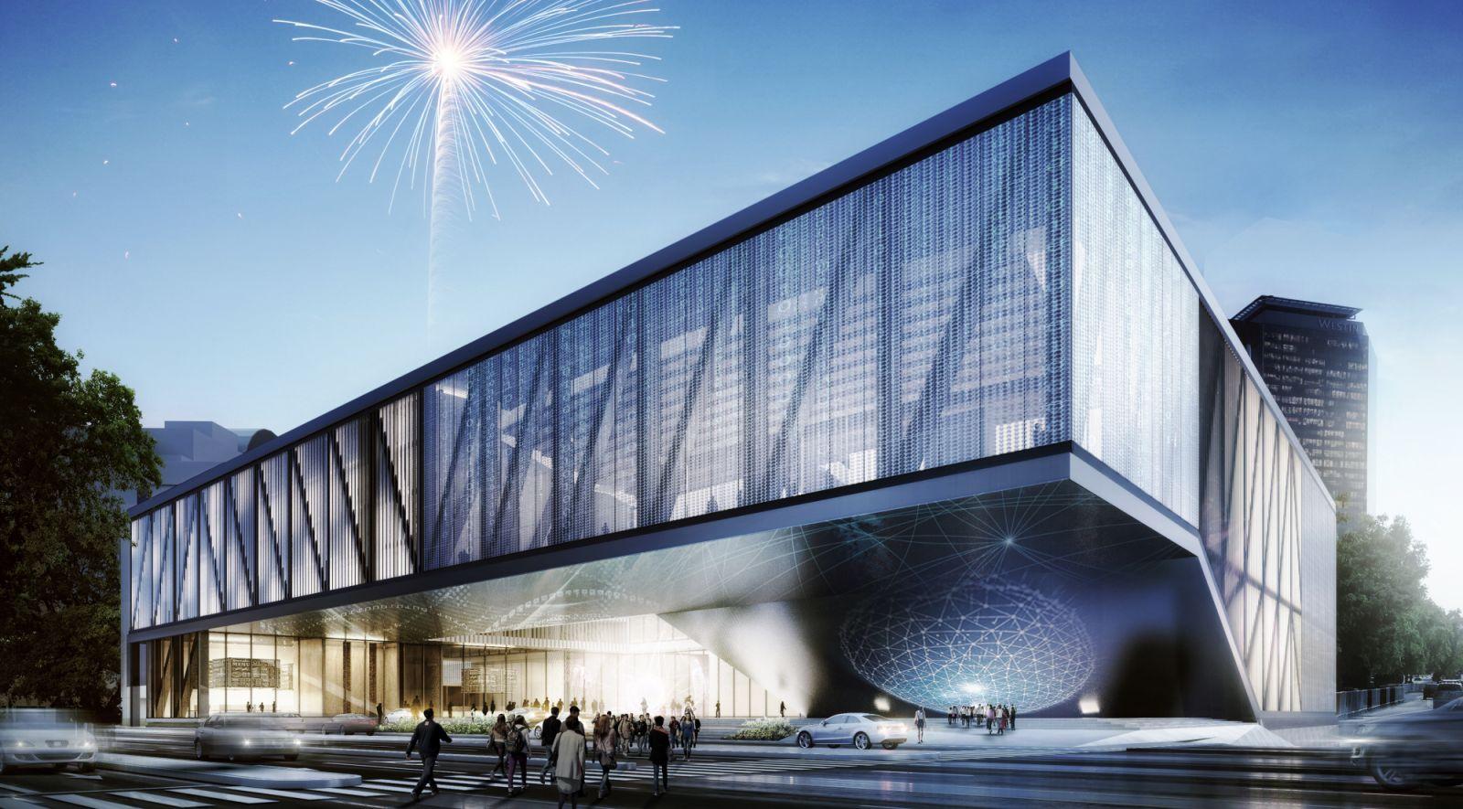 new complex at Expo Guadalajara