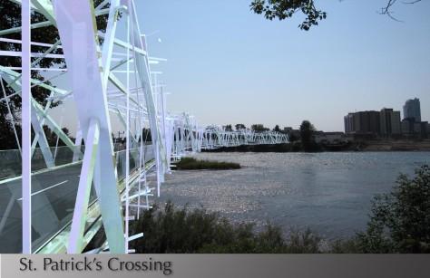 St Patrick Crossing Forest Bridge