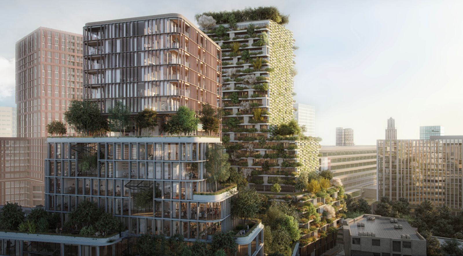 In Utrecht the first dutch Vertical Forest