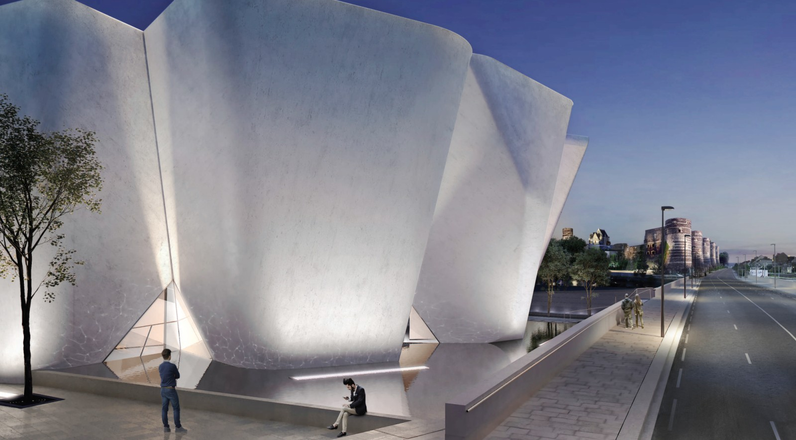 New Angers Collectors Museum and Hotel