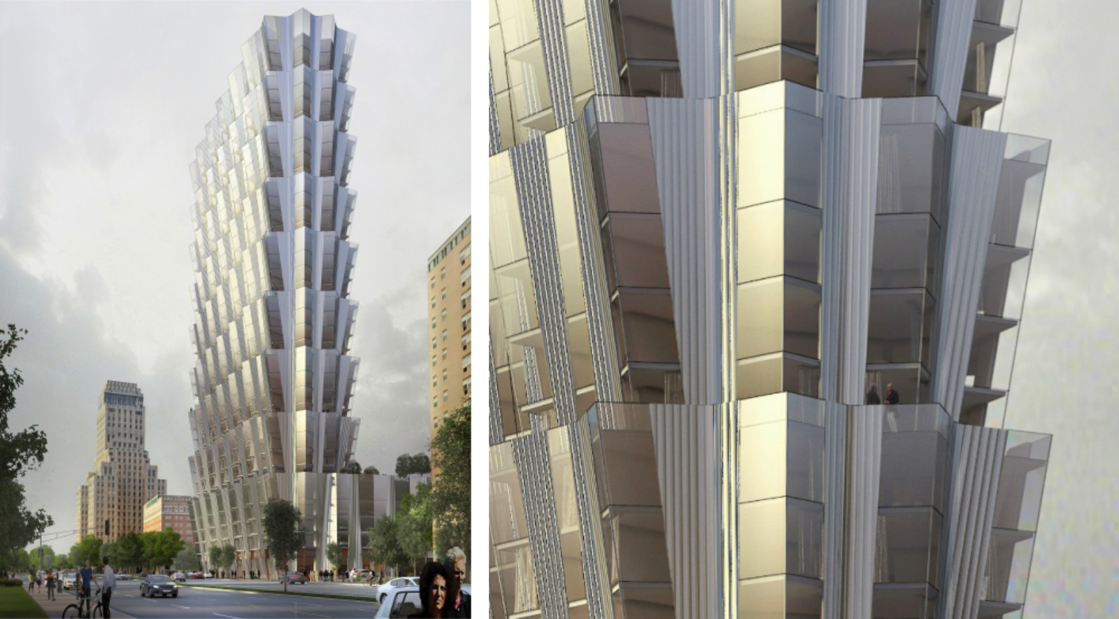 of New Tower in St. Louis Embargoed