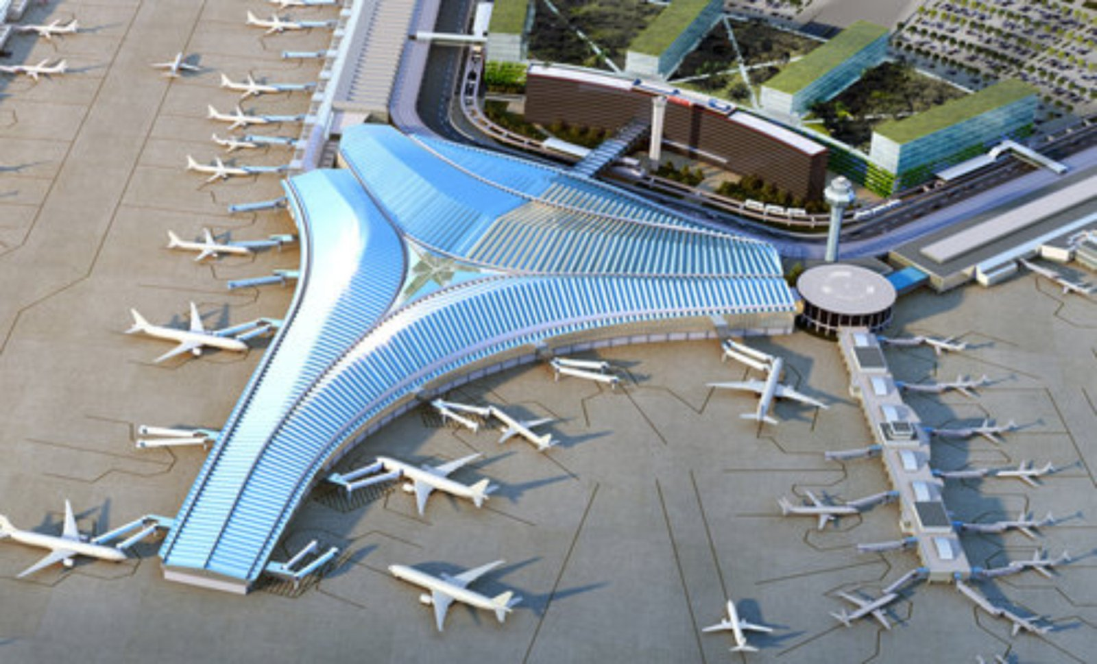 Chicago's O'Hare Airport