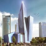 Studio Libeskind wins competition to create a Business Complex in Vilnius