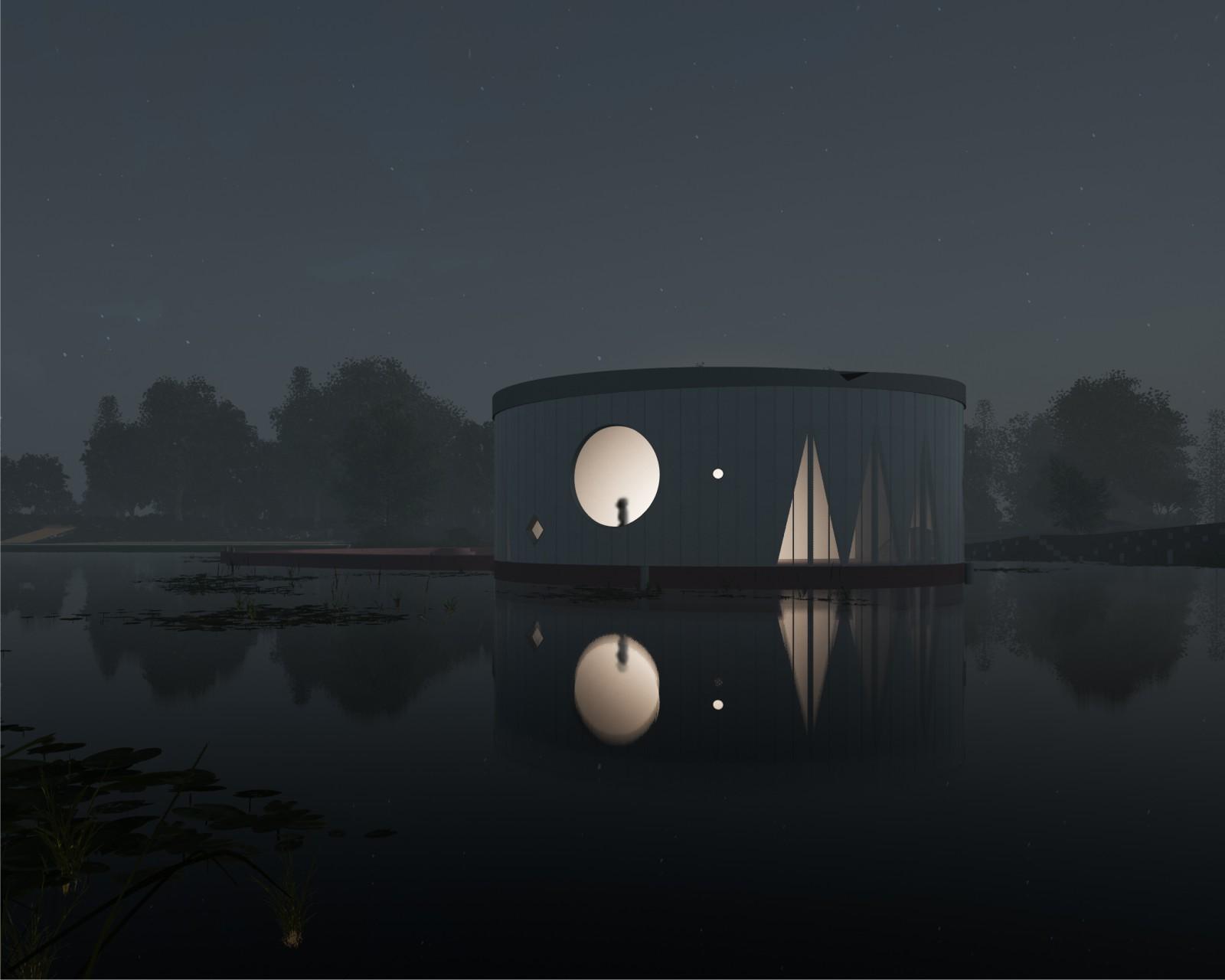 Floating Art Pavilion
