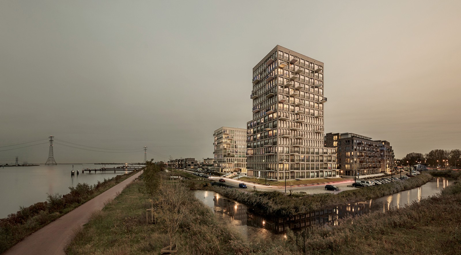 residential complex on Zeeburger Island