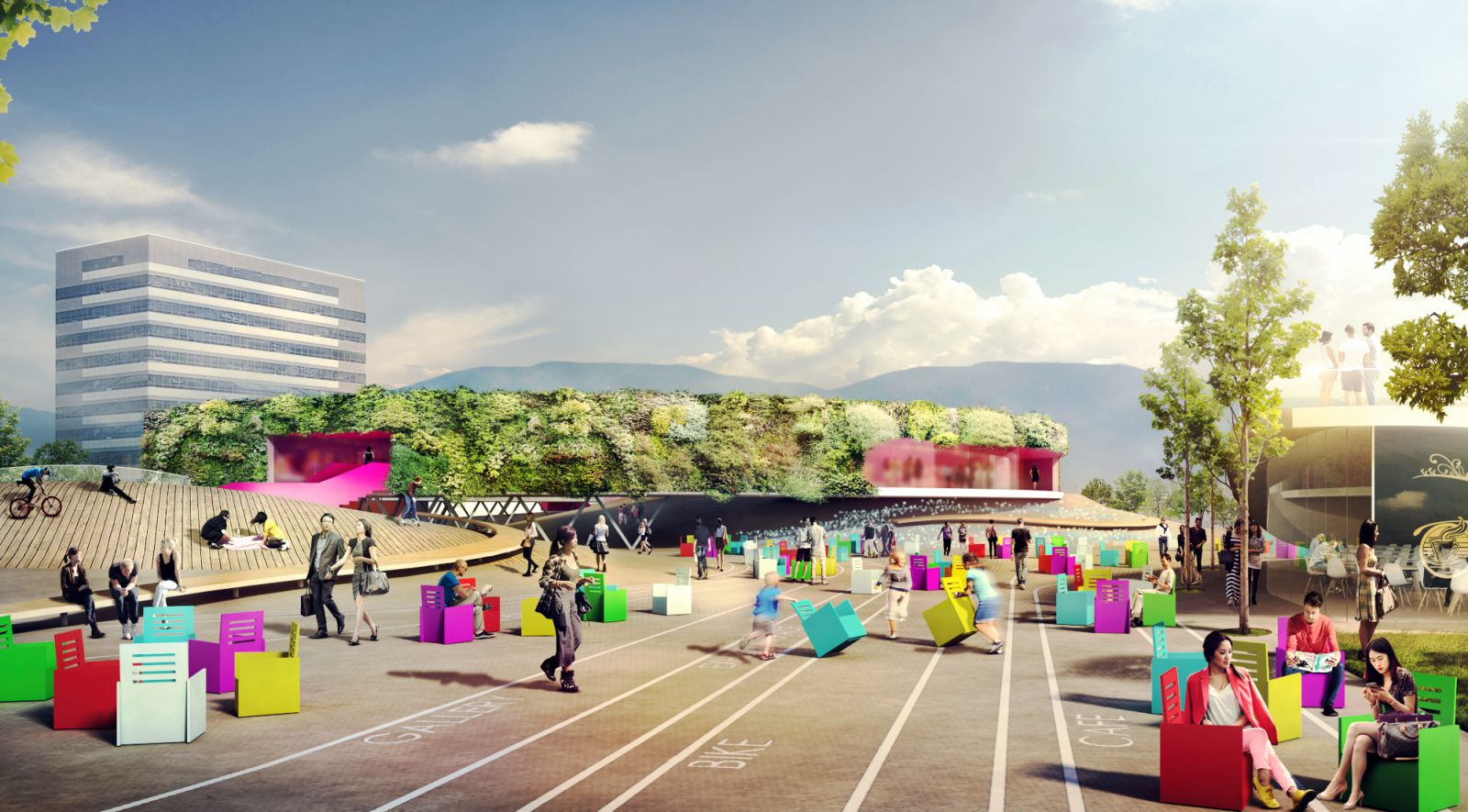 Suncheon International Architecture competition