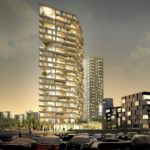 Tallest Timber Tower in Amsterdam by Team V Architectuur