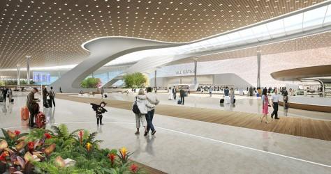 Terminal 3 of Taiwan Taoyuan International Airport