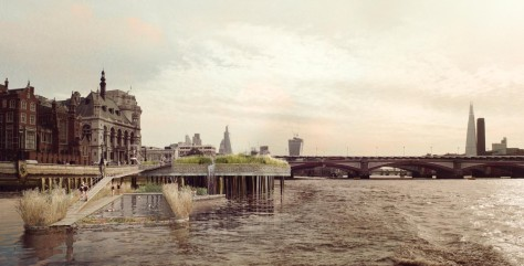 Thames Baths project
