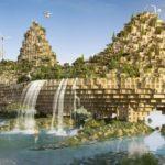 The 5 Farming Bridges by Vincent Callebaut Architectures