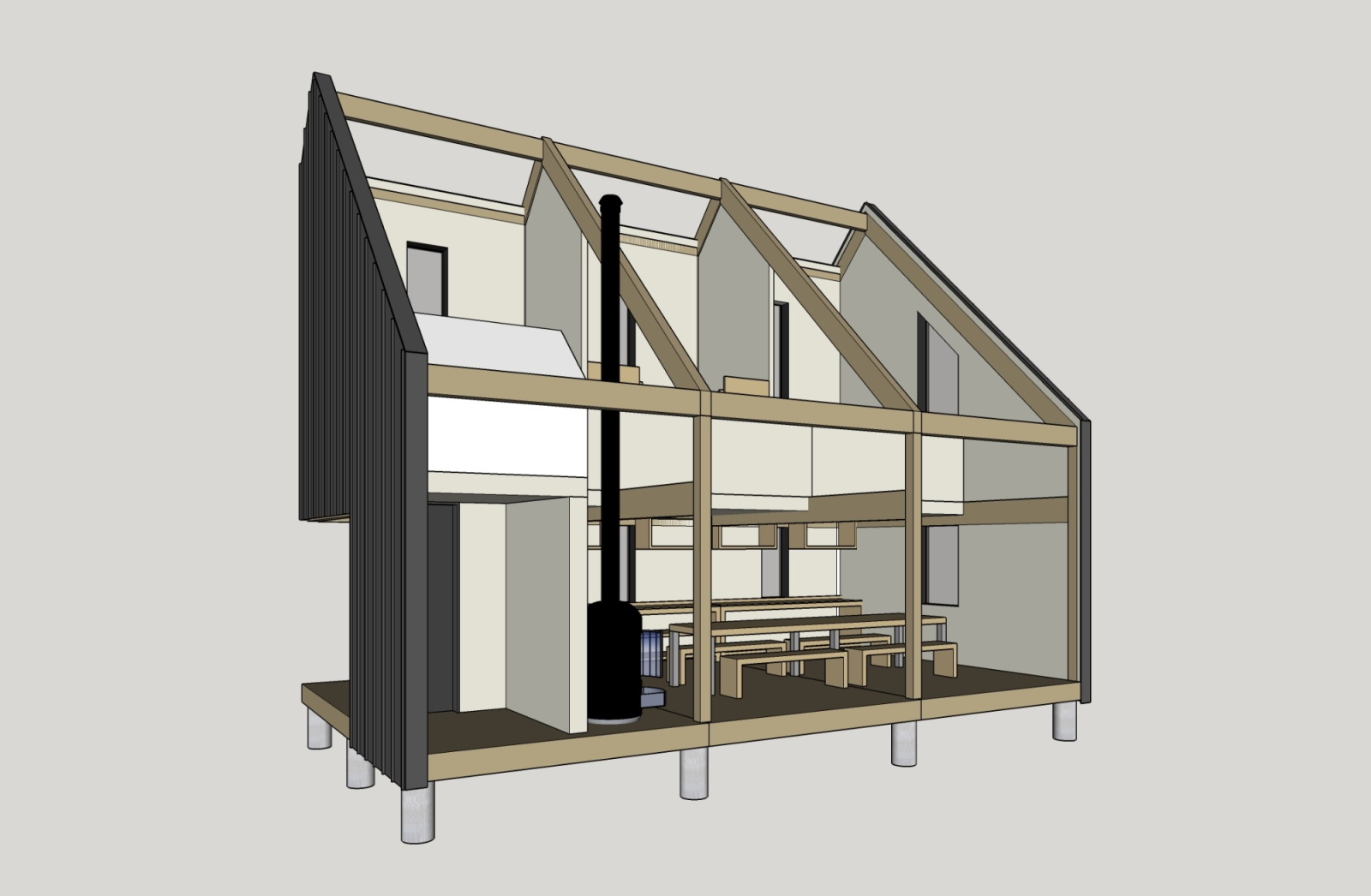 the backcountry hut company by leckie studio architecture and design 09 a as architecture. Black Bedroom Furniture Sets. Home Design Ideas