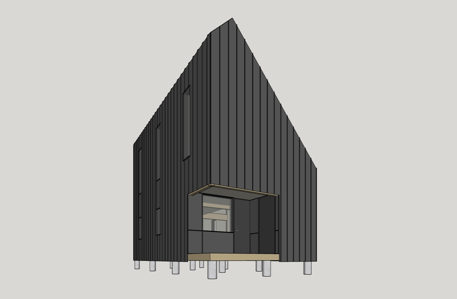 the backcountry hut company by leckie studio architecture and design 11 a as architecture. Black Bedroom Furniture Sets. Home Design Ideas