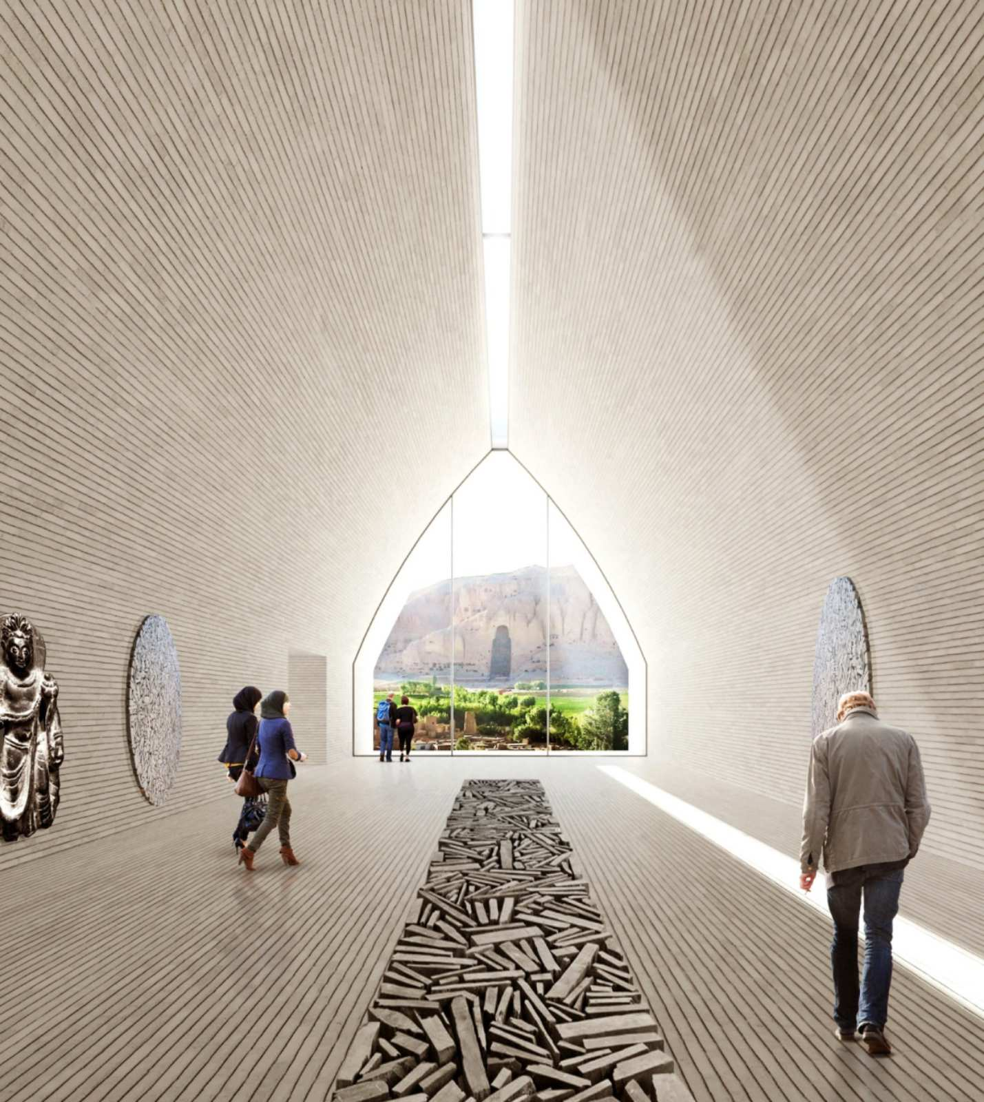 The Bamiyan Cultural Centre in Afghanistan