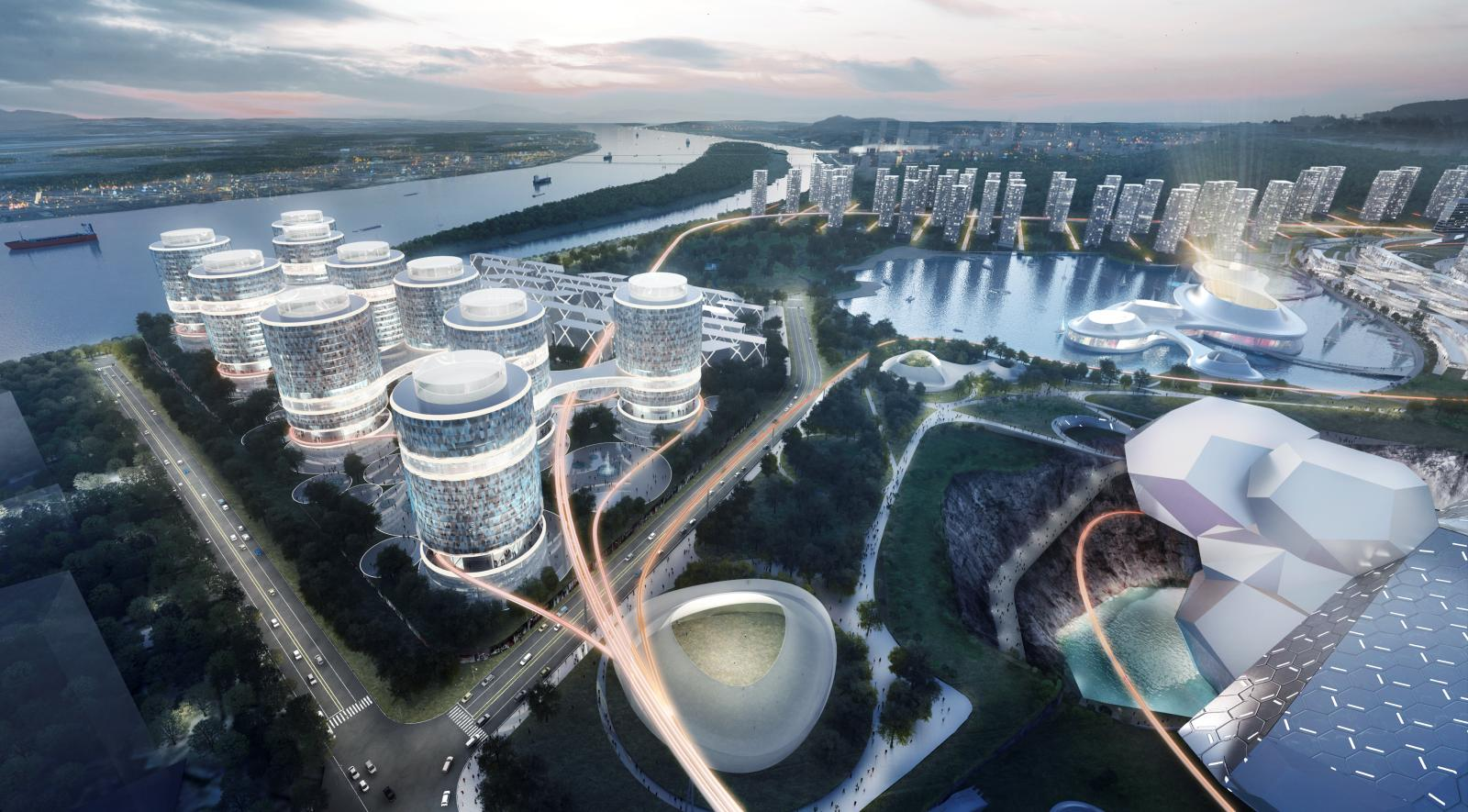 The Changsha Eco Tech City