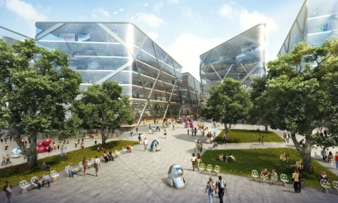 The Changsha Eco Tech City