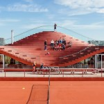 MVRDV Completes The Couch for Amsterdam's Tennisclub IJburg