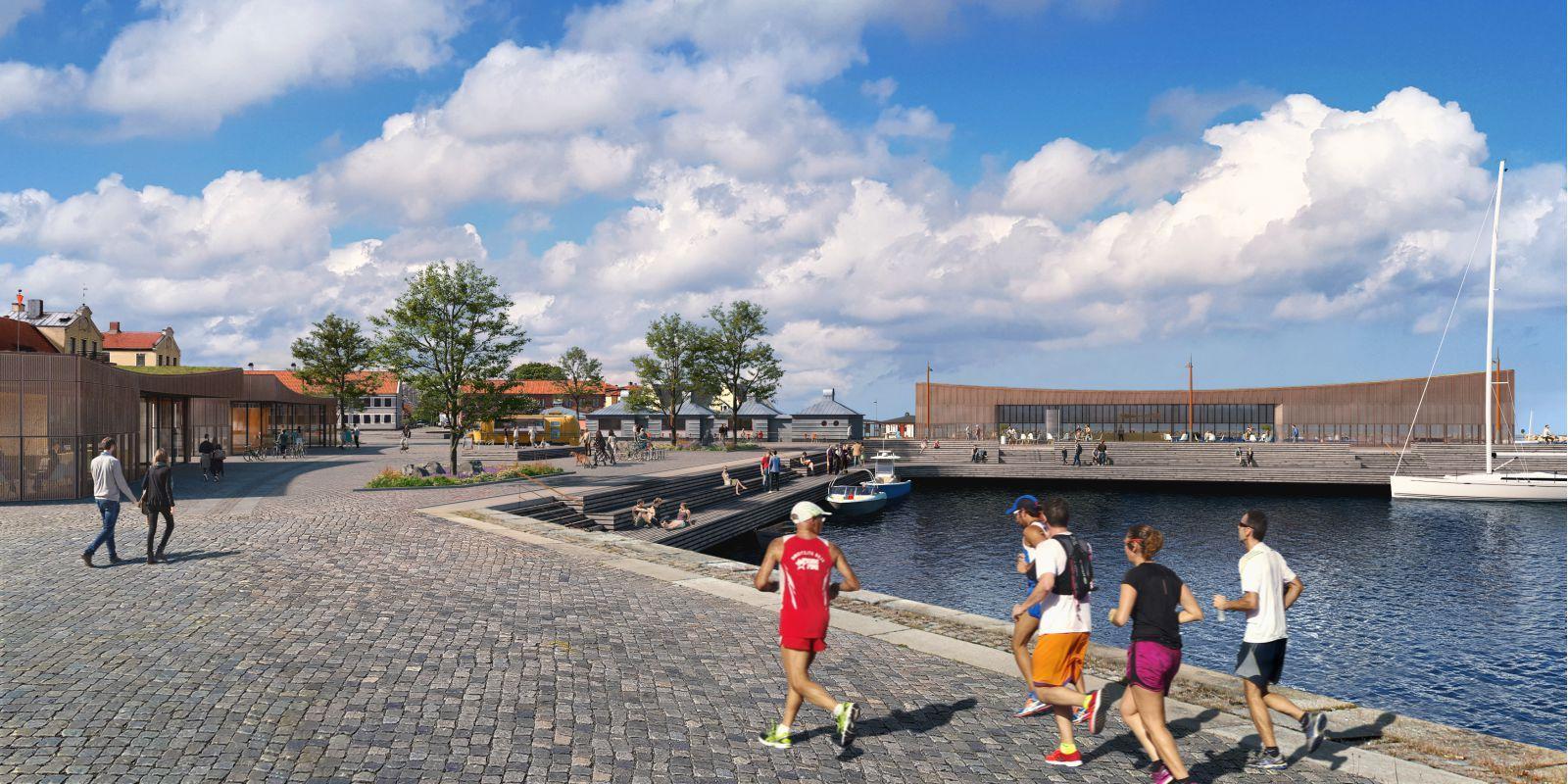 Harbour of Simrishamn