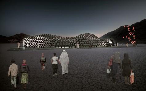 The Hive Pavilion