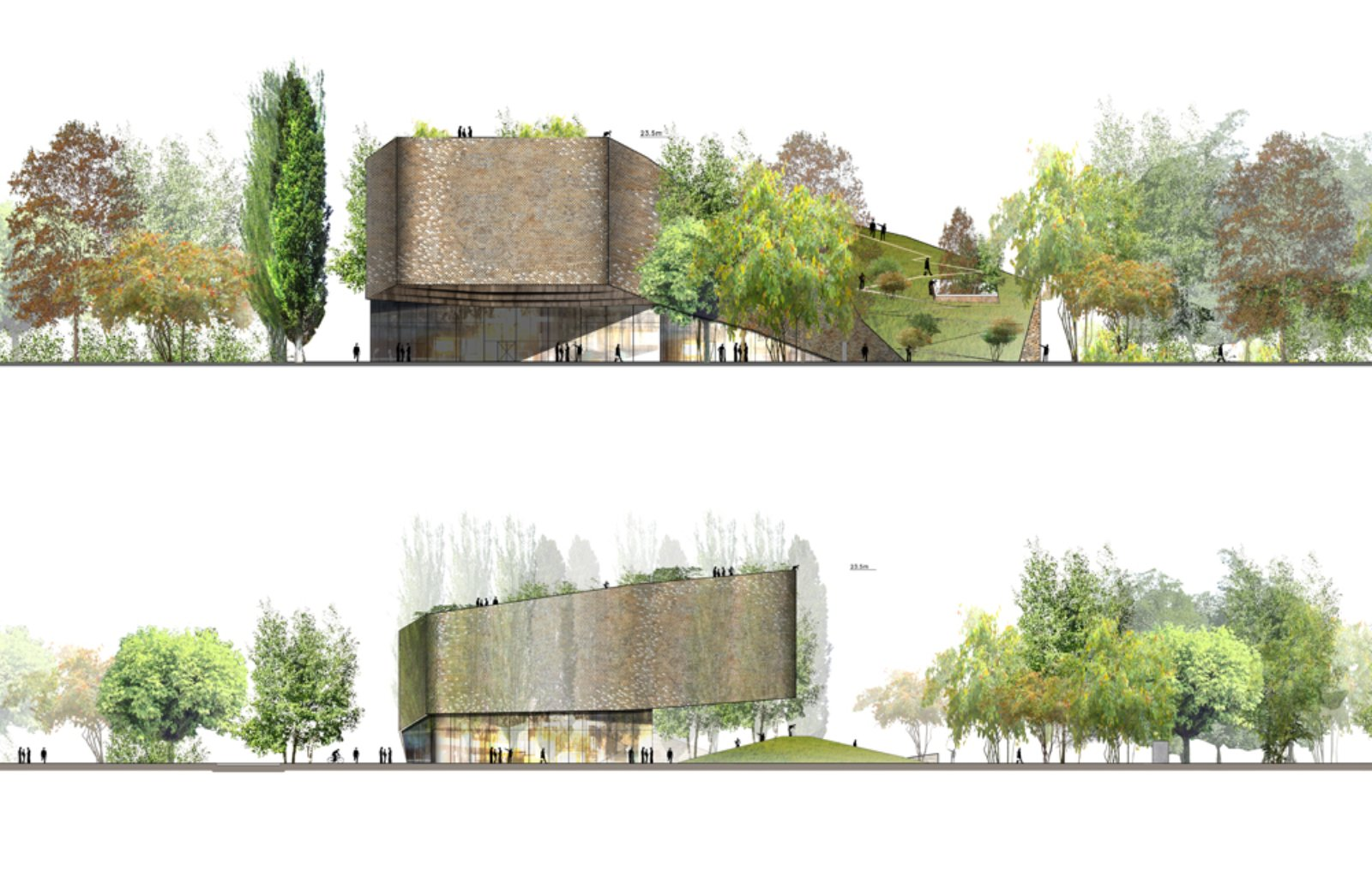 The house of hungarian music by wild architecture 08 for House music structure