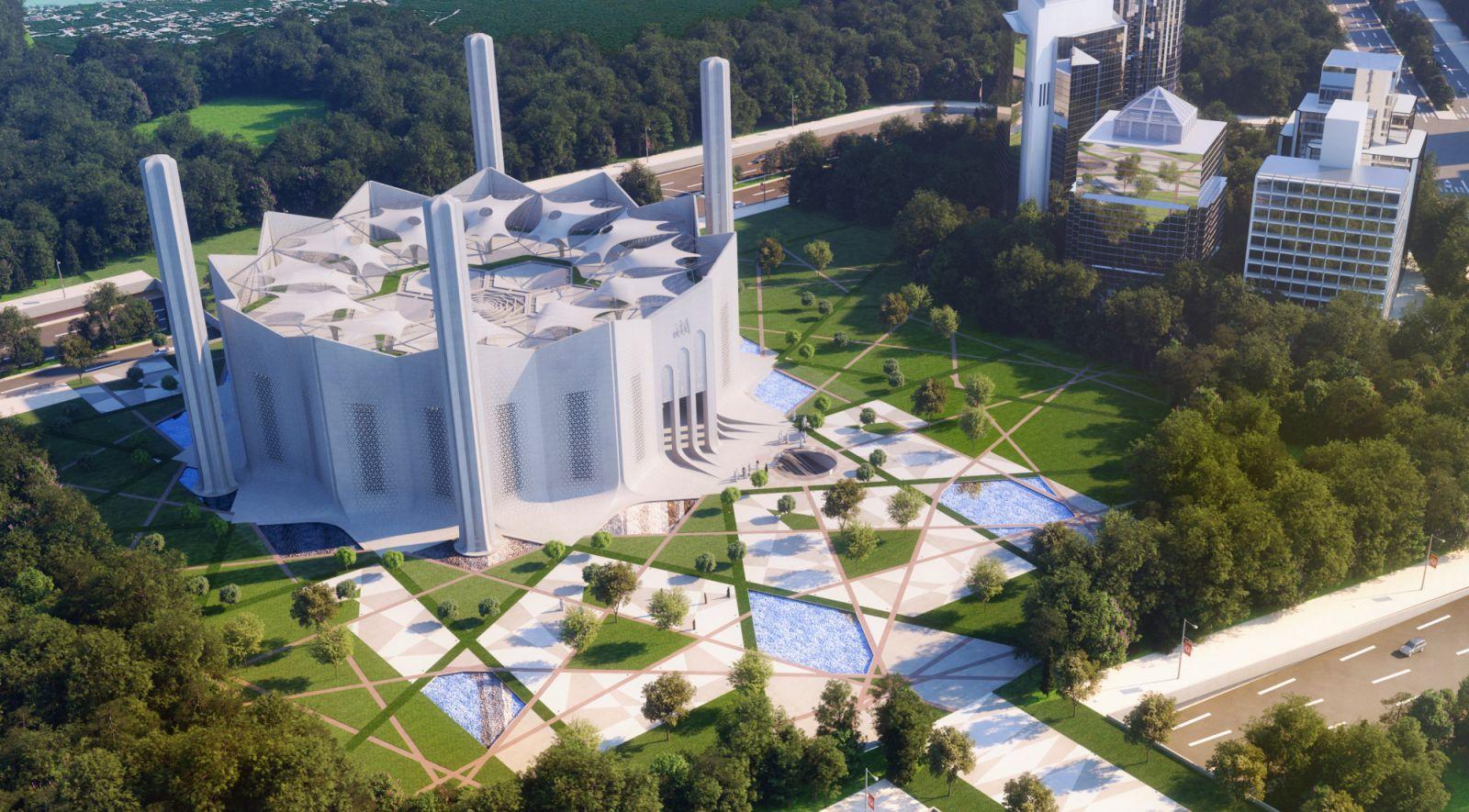 Iconic Mosque