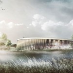 The Lost Shield visitor centre by PLH Arkitekter