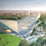 The New National Gallery and Ludwig Museum Budapest by Snøhetta