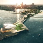 """The Pier Park"" wins St. Petersburg Pier design"