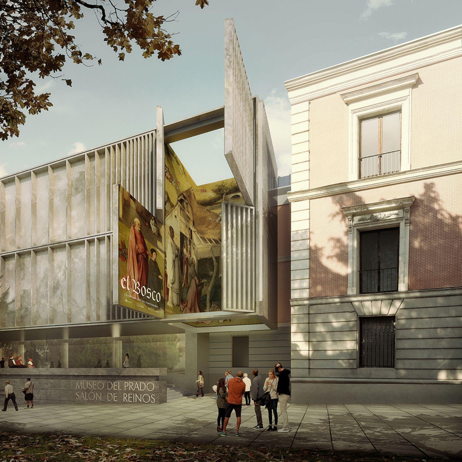 The Salón De Reinos Extension