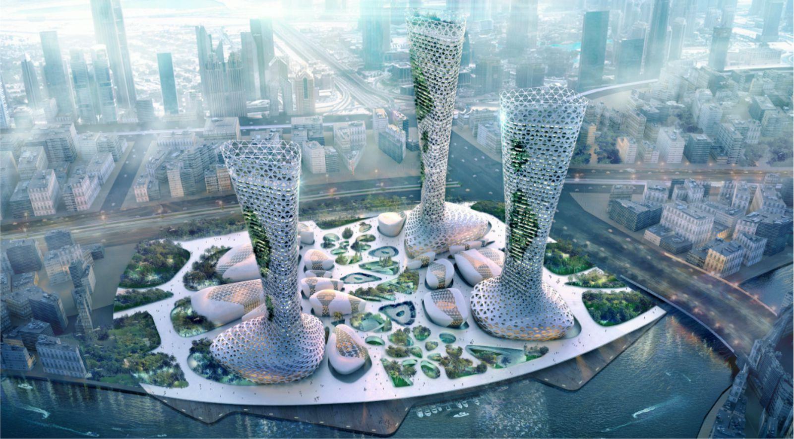 Symbiotic Towers