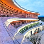The Tangshan Fangshan Geopark National Museum by Studio Odile Decq