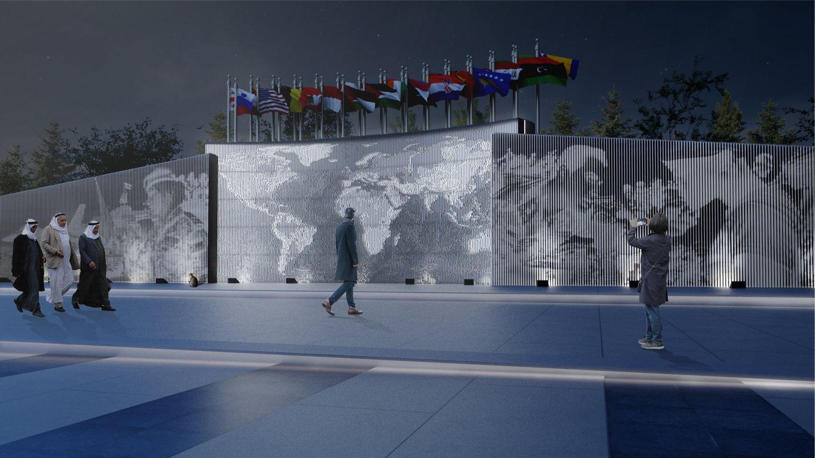 UN Square Murals