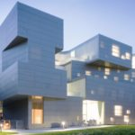 The Visual Arts Building opens in October by Steven Holl Architects