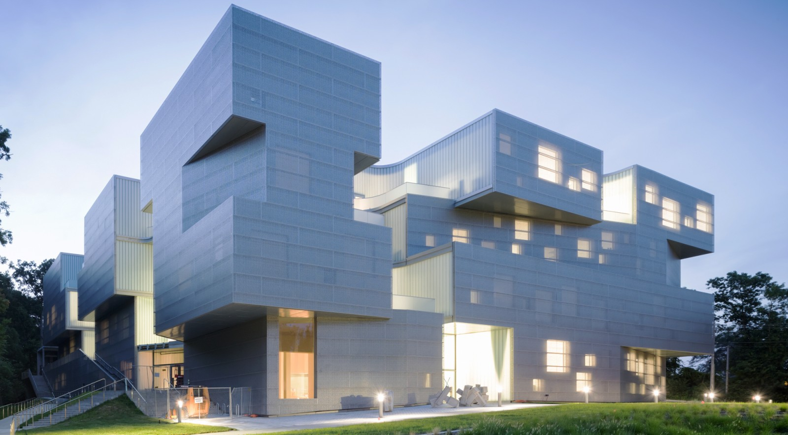 The visual arts building opens in october by steven holl for Art architectural