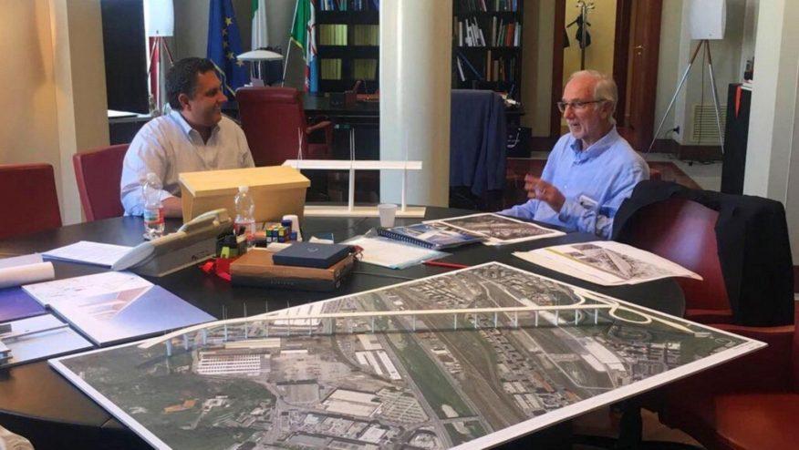 Renzo Piano bridge for Genoa