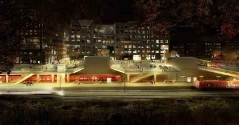 new Carlsberg Station