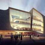 Theater aan de Parade Final selection of designs by UNStudio and EHA Architects