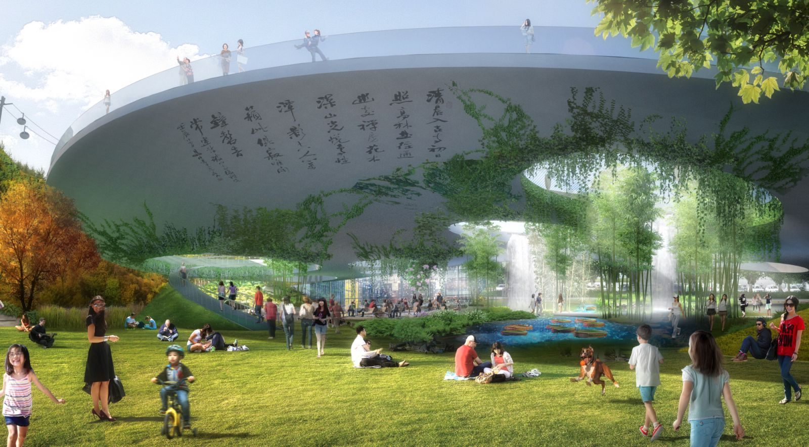 Tls landscape architecture wins lion mountain park in suzhou for Area landscape architects