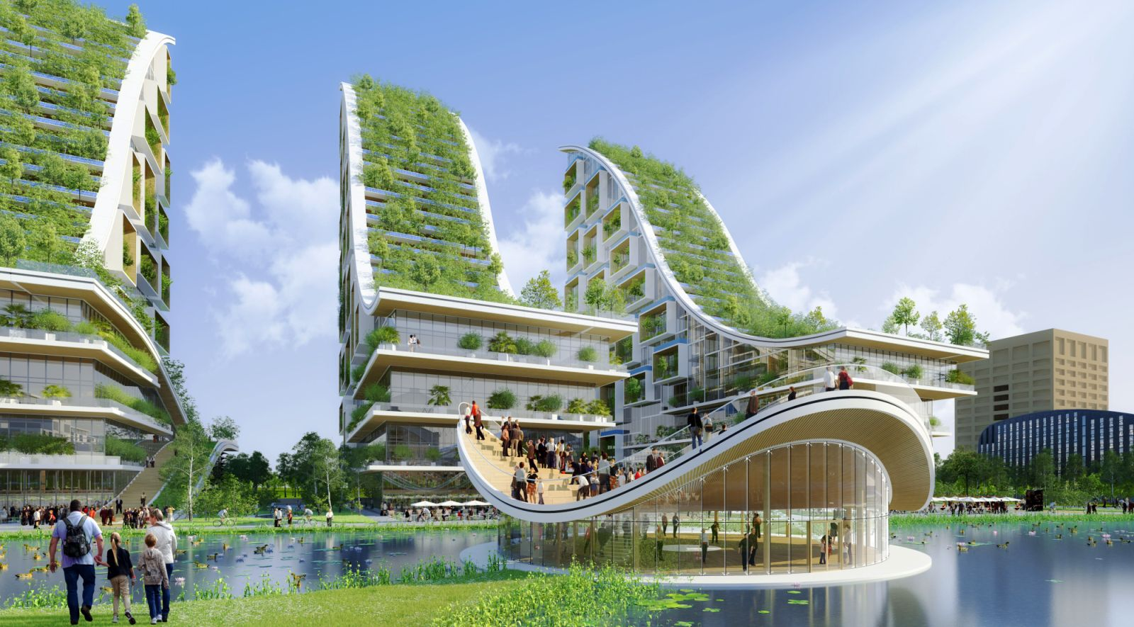 Tour taxis energy plus masterplan by vincent callebaut 00 for Architecture 00