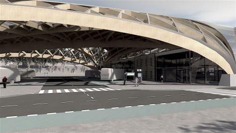 Transportation Hub in Gliwice
