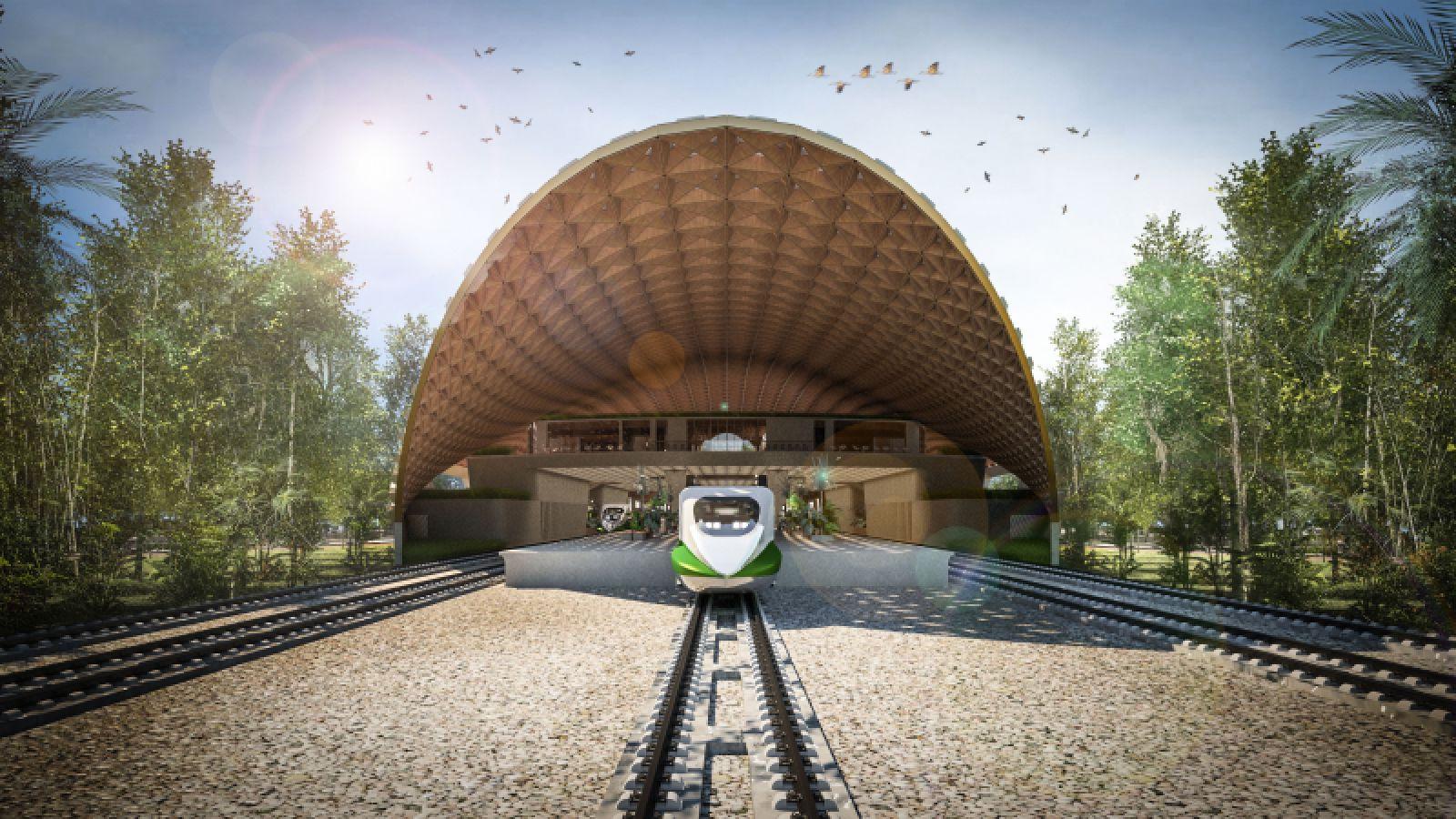 Tulum Train Station
