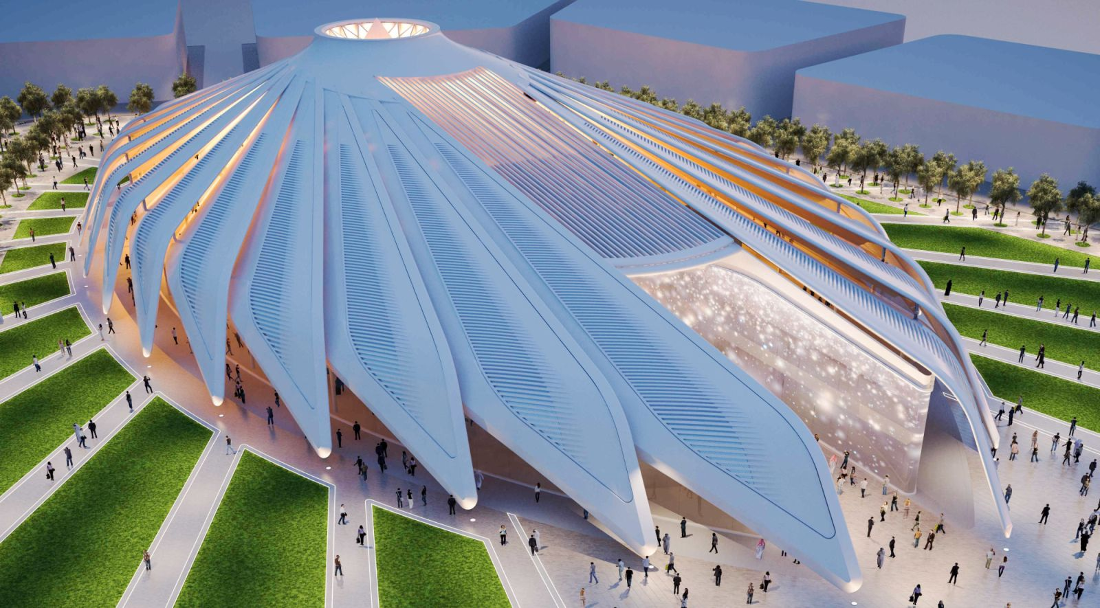 Santiago Calatrava designs UAE Pavilion for Dubai World Expo 2020 98