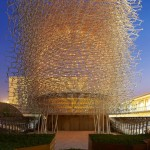 UK Pavilion Expo 2015 by Wolfgang Buttress