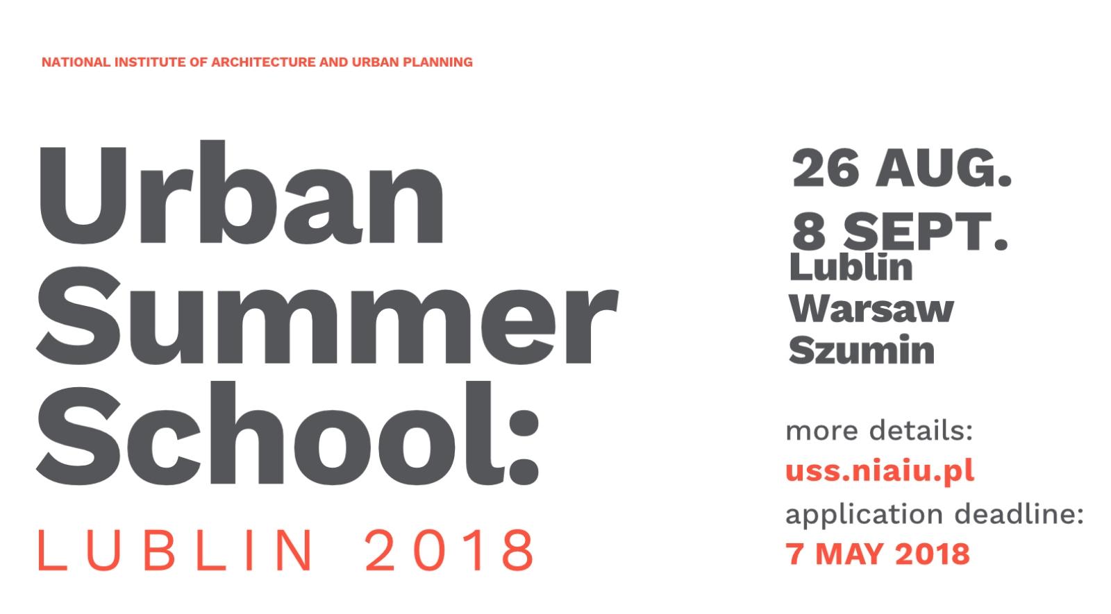 Urban Summer School