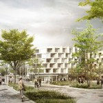 Vestby Urban Centre Transformation Plan by C.F. Møller Architects and JaJa architects