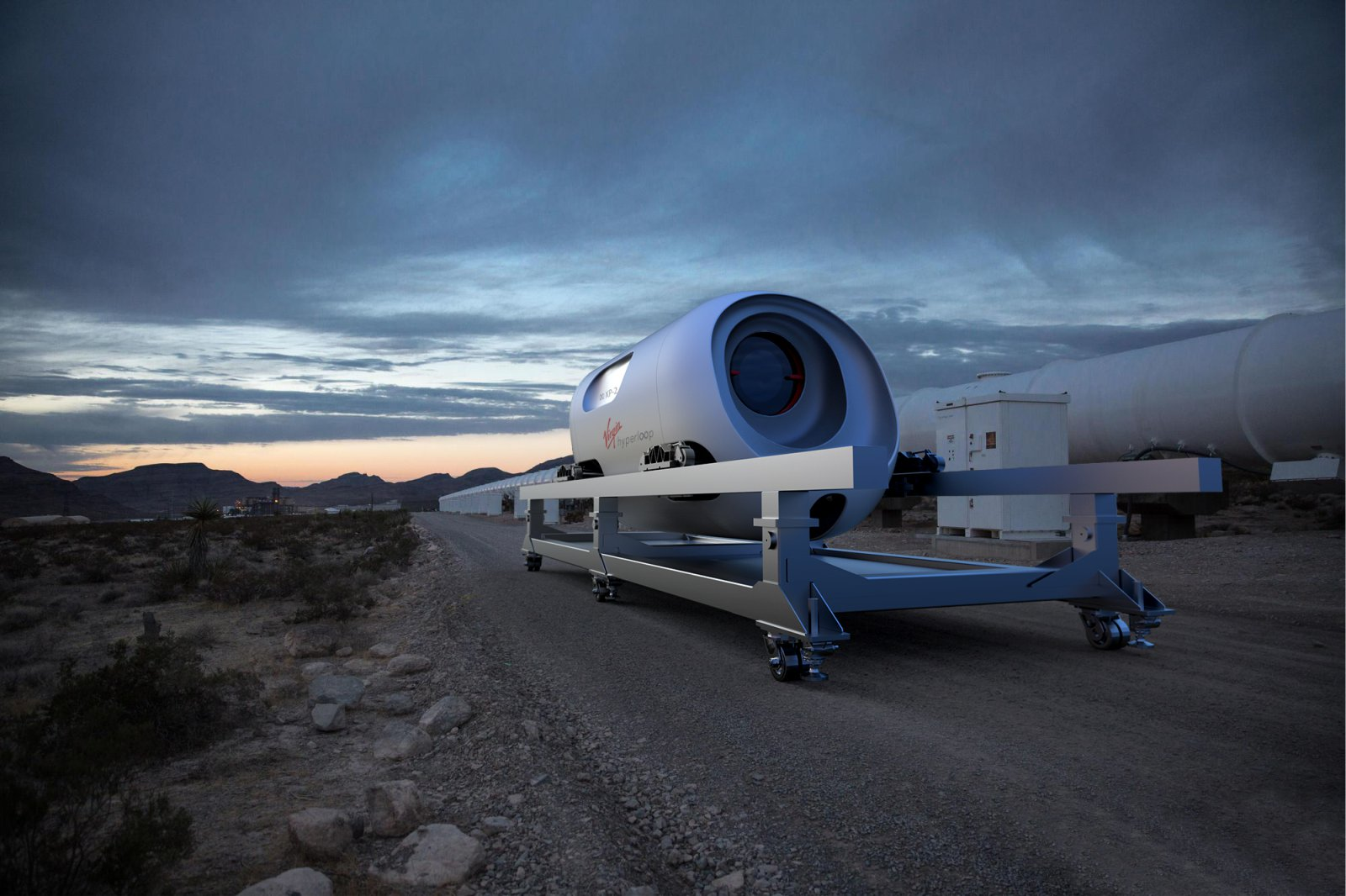 Hyperloop's Pegasus