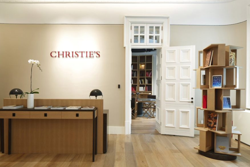 Christie's Shanghai headquarters