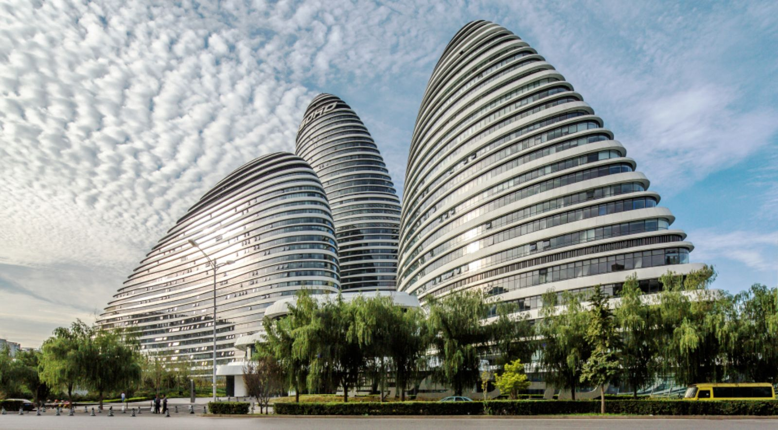Wangjing soho by zaha hadid architects receives the zhan for Architecture zaha hadid