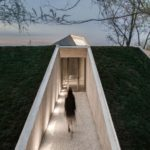 Waterside Buddhist Shrine by Archstudio